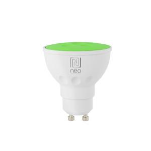 Immax NEO Smart žárovka LED GU10 3,5W RGB barevná, stmívatelná, Zigbee 3.0