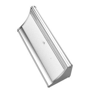 Venkovní solární LED osvětlení s čidlem 3,2W, stříbrné
