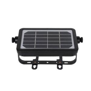 Venkovní solární LED osvětlení IMMAX CROAKER s čidlem 5W, černé