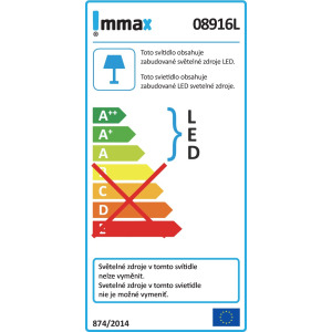 Lampička stolní LED IMMAX Heron