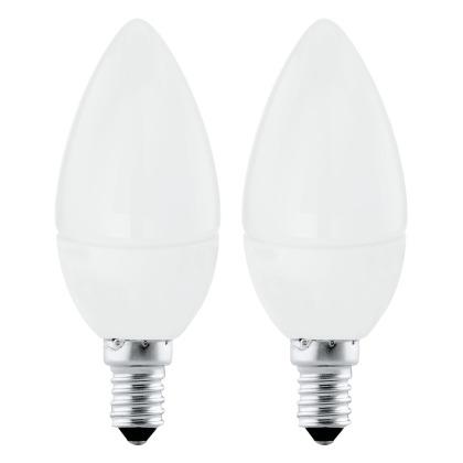 Zdroj-E14-LED svíčka 4W 3000K 2 ks 10792 - Eglo