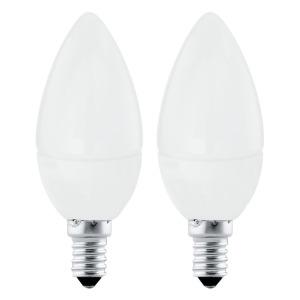 Led-E14- svíčka 4W 3000K 2 ks Eglo - 10792