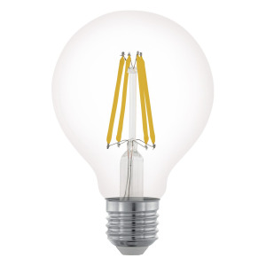 Zdroj-E27-LED G80 6W čirý 2700K 1ks 11702 - Eglo