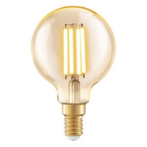 Zdroj-E14-LED G60 4W 2200K jantarový 1ks 11782 - Eglo
