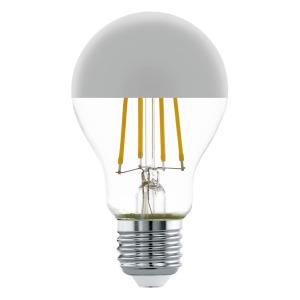 Zdroj-E27-LED A60 7W 2700K CHROM 1ks 11834 - Eglo