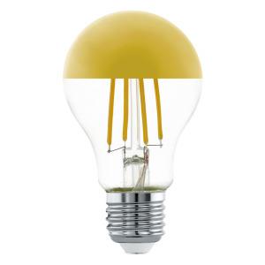 Zdroj-E27-LED A60 7W 2700K GOLD 1ks 11835 - Eglo