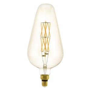 Zdroj-E27-LED D165 8W jantarový 2100K 1ks 11838 - Eglo