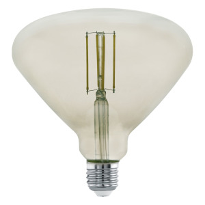Zdroj-E27-LED BR150 4W kouřový 3000K 1ks 11841 - Eglo