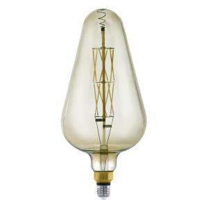 Zdroj-E27-LED D165 8W kouřový 3000K 1ks 11842 - Eglo