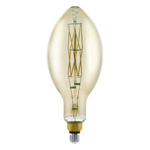 Zdroj-E27-LED E140 8W kouřový 3000K 1ks 11843 - Eglo