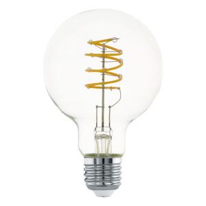 Zdroj-E27-LED-G80 4W 2700K 1ks 12696 - Eglo