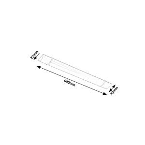 Podlinkové svítidlo Rabalux - Batten Light 1451