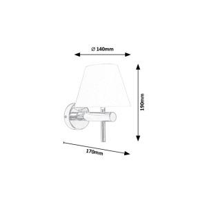 Koupelnové svítidlo Rabalux - Angus 3996