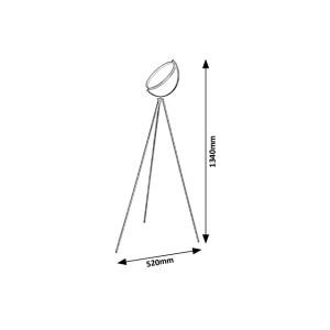 Stojací lampa Rabalux - Echo 5595