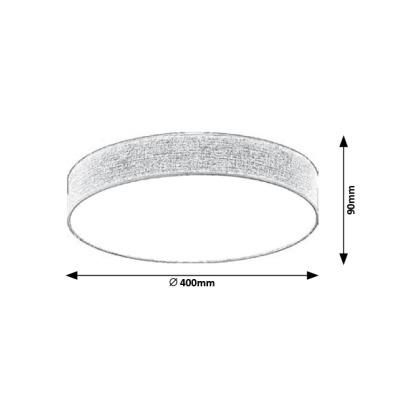 Stropní svítidla Rabalux - Artemis 5681