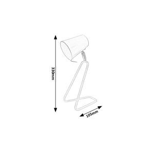 Stolní lampa Rabalux - Olaf 5779