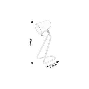 Stolní lampy Rabalux - Olaf 5780