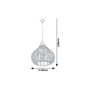 Závěsné svítidlo Rabalux - Zahara 7604