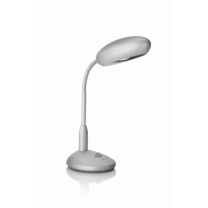 LAMPA STOLNÍ E27 1x11W bez zdroje, šedá