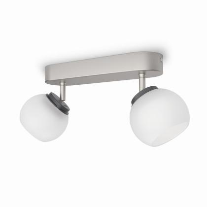 Balla SVÍTIDLO BODOVÉ LED 2x4W 660lm 2700K, bílá/chrom