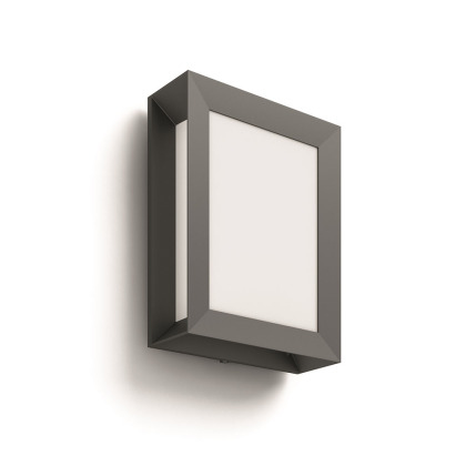 Karp SVÍTIDLO VENKOVNÍ LED 6W 600lm 2700K IP44, antracit
