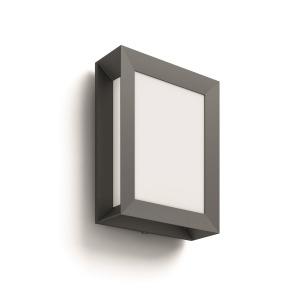 Philips Karp 17293/93/16 LED 6W 600lm 2700K IP44, antracit